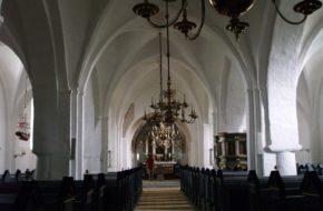 Tamdrup Wiejski duński kościółek