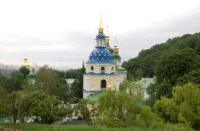 Kijów Staroruski monaster Wydubicki