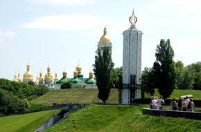 Kijów Zielone tereny stolicy Ukrainy