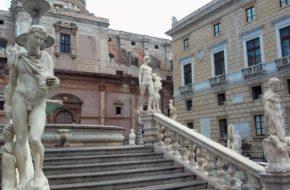 Palermo Stare miasto z nowym deptakiem