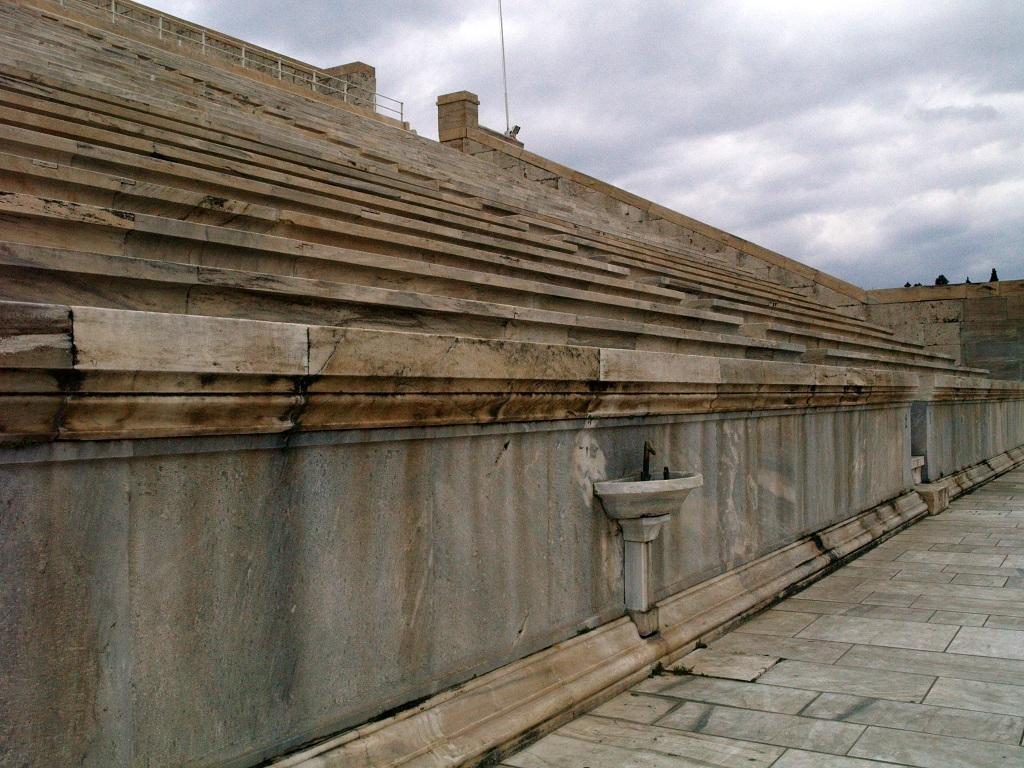Ateny. Panateński stadion, stadion olimpijski