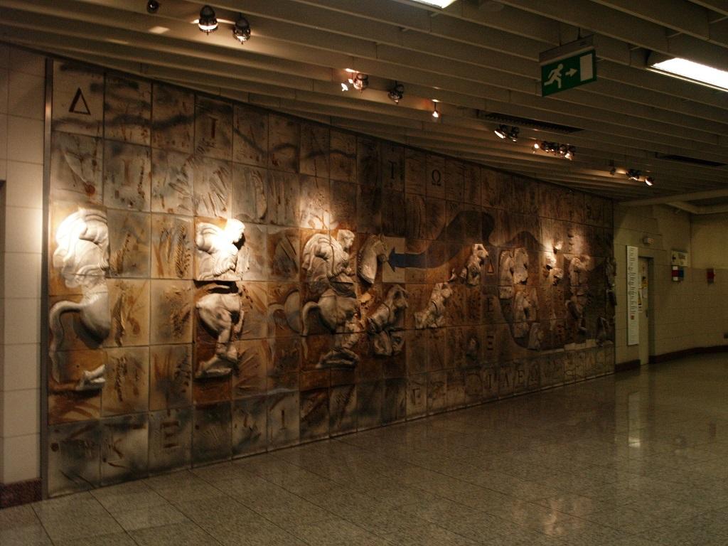 Ateny. Tu metro jest jak podziemne muzeum