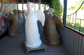 Kijów Anioły Sławy na turystycznych szlakach