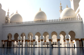 Abu Zabi Wielki Meczet Szejka Zajeda