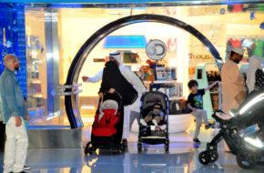 Dubaj W największym centrum handlowym