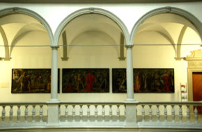 Lucerna Taniec Śmierci  w Pałacu Rycerza