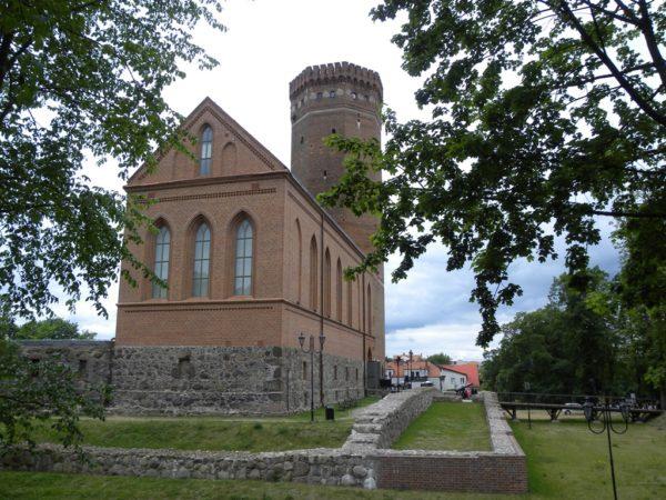 Człuchów. Krzyżacki zamek, największy po Malborku