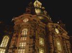 Drezno. Pomnik Lutra stoi przed Frauenkirche