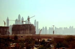 Dubaj Wyspy Palmowe ciągle w budowie