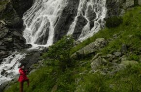 Fogarasz Bâlea, największy karpacki wodospad