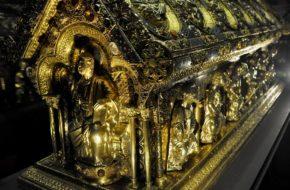 Bečov nad Teplou Jak odnaleziono relikwiarz św. Maura