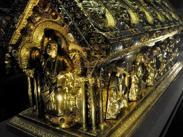 Bečov nad Teplou. Jak odnaleziono relikwiarz św. Maura