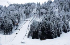 Engelberg Najwieksza skocznia w Szwajcarii