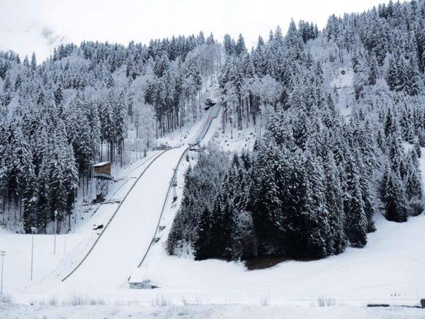 Engelberg. Najwieksza skocznia w Szwajcarii