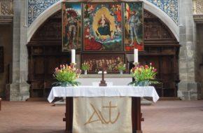 Halle Kościół Mariacki, zwany też Targowym