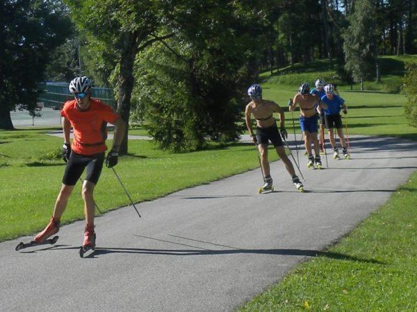 Otepää. Tu trenują narciarscy biegacze