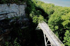 Valaste Wodospad całkiem bez wody