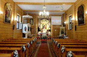 Warszawa Modrzewiowy kościół Michała Archanioła