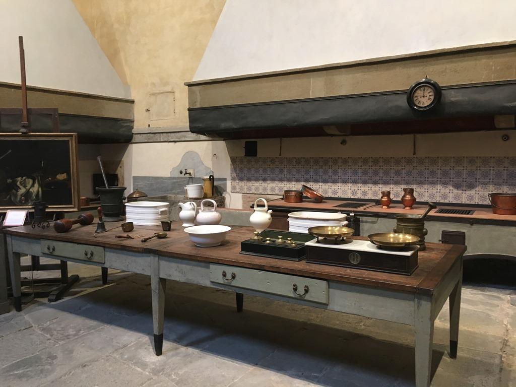 Florencja Palazzo Pitti od kuchni i łazienek