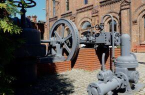 Warszawa Gazownia, a w niej muzeum gazownictwa