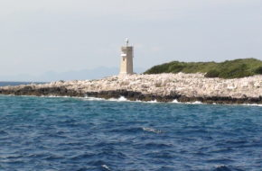 Proizd Bezludna wyspa ożywa tylko latem