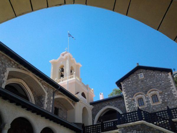 Kykkos. Sanktuarium i mauzoleum Makariosa