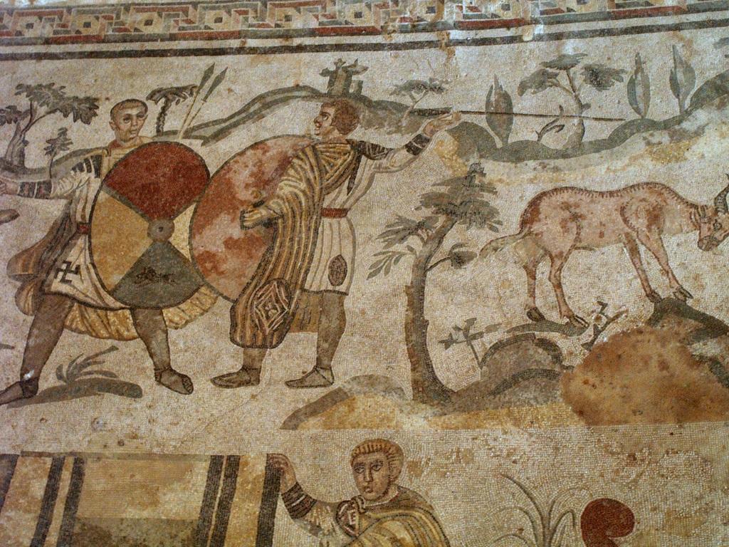 Piazza Armerina. Mozaiki w rzymskiej willi