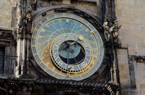 Czechy Mniej znane zegary astronomiczne