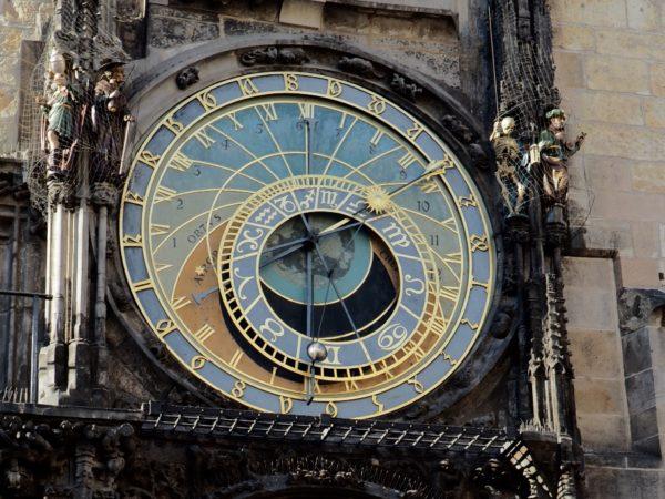 Czechy. Mniej znane zegary astronomiczne