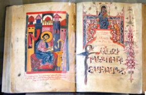 Gandzasar Monaster z biblioteką na Górze Skarbów