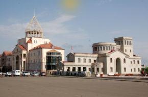 Stepanakert W stolicy Górskiego Karabachu