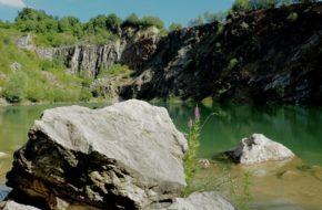 Beňatina Turkusowe jeziorko we wschodniej Słowacji