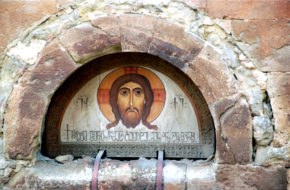 Tbilisi Anczischati i wizerunek Chrystusa
