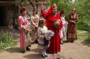 Argarac Teatr folklorystyczny w wiosce Byurakan