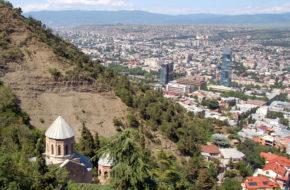Tbilisi Mtacminda – panteon na Świętej Górze