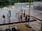 Kaluža. Park wodny nad wielką wodą