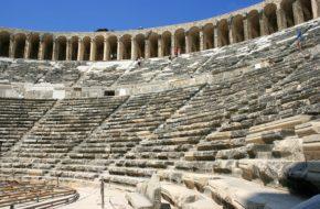Aspendos Amfiteatr najpiękniejszy na świecie
