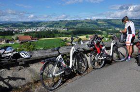 Lucerna Rowerowym Szlakiem Serca wokół miasta