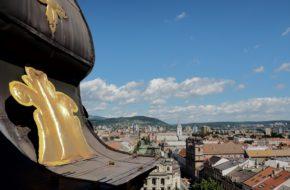 Koszyce Piękny jest widok z katedralnej wieży
