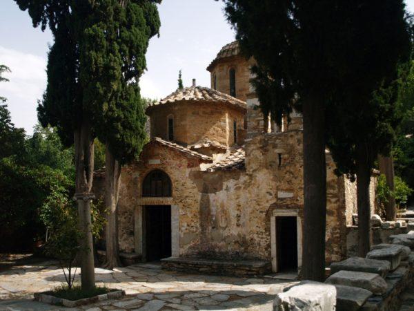 Ateny. Monastyr Kesariani na górze Hymet