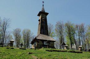 Beskidek Cmentarz na granicznym grzbiecie