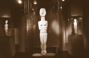 Ateny Muzeum Sztuki Cykladzkiej