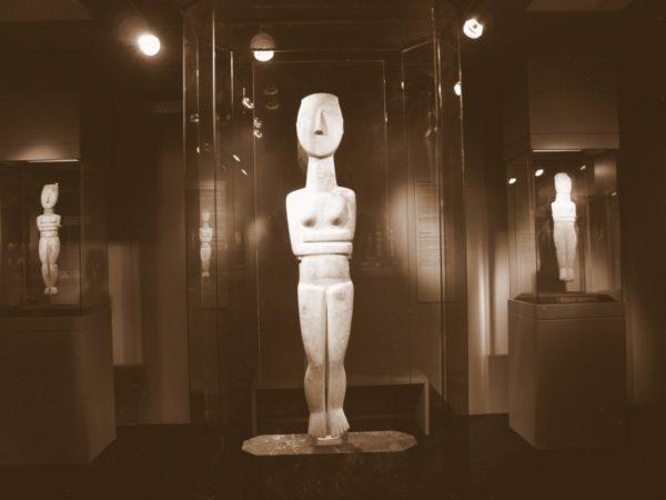 Ateny. Muzeum Sztuki Cykladzkiej