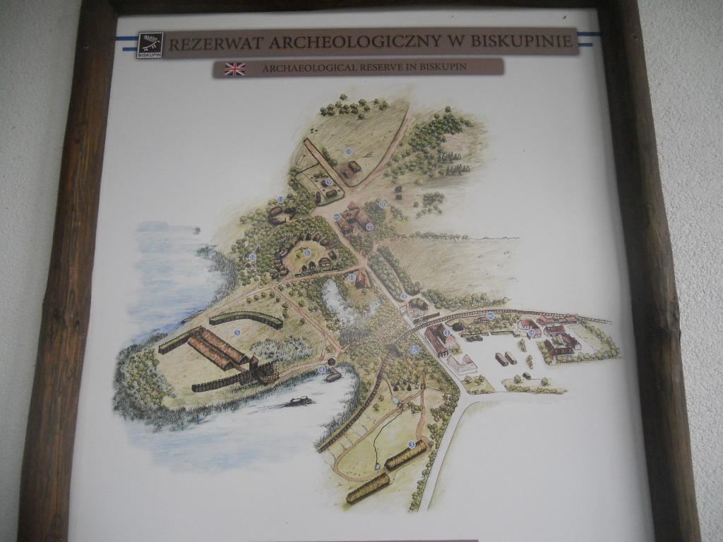 Biskupin. Rezerwat archeologiczny nad wodą