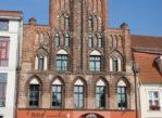 Greifswald. Z czerwonym gryfem w herbie