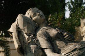 Ateny Zabytkowy cmentarz Alfa