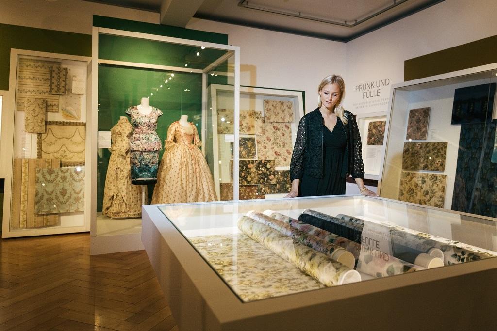 Sankt Gallen Muzeum Włókiennictwa w Palazzo Rosso
