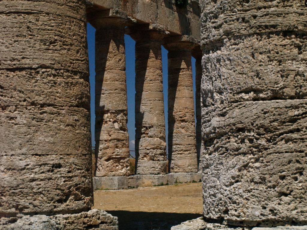 Segesta. Wielka, niedokończona świątynia