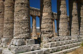 Segesta Wielka, niedokończona świątynia