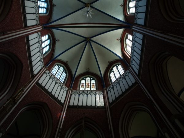 Bad Doberan. Ceglany kościół pocysterski